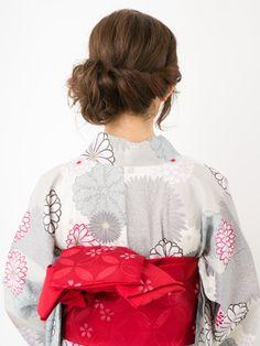 【ロング浴衣】後ろ姿で個性を出す! 大人女子のエレガントスタイル | All About MICO [ミーコ]