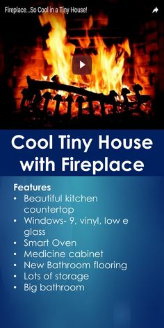 Tiny House Tour: Cool Tiny House with Fireplace   Tiny Quality Homes