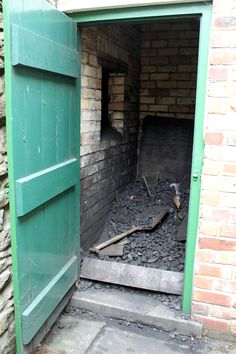 Coal Hole, just like Grandma and Grandad's. The outside loo was next door, same size and shape.