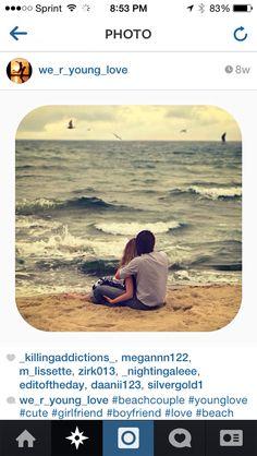 Cute beach picture!