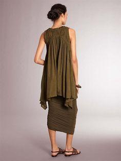 // Donna Karan - hideous color, but wonderful cut