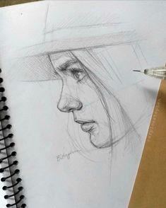 "Best Portraits Online on Instagram: ""Artist: @carpioestephen --------------------------------------------------------------------------------- Follow: @bestportraitsonline1…"" Portrait Drawing Tips, Best Portraits, Drawing Skills, Instagram Artist, Photo And Video, Graphite, Drawings, Magic, Dibujo"