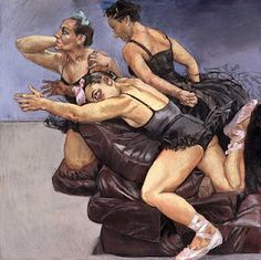 Paula Rego - Dancing ostriches (1995)