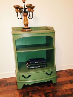 The second of the pair of Antique Nightstands-