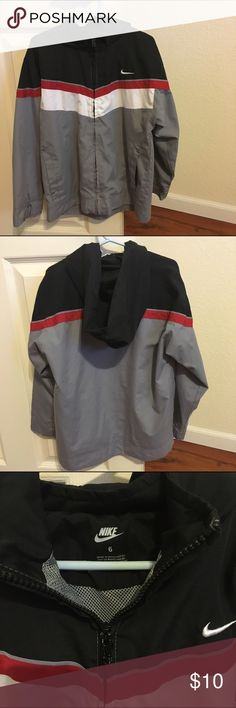 Boys Nike jacket , for 6 y.old. Used. good condition . Nike Jackets & Coats