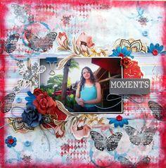 **C'est Magnifique Kits** Moments - Scrapbook.com