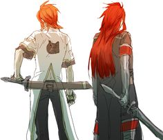 Luke & Asch (Tales of the Abyss)
