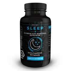 """Complete Restoration!"" Prime Sleep is the perfect supplement for anyone who is looking to optimize their sleep and sleep quality, with a blend of nootropics and herbs designed to calm the mind and provide the body with the necessary nutrients for optimal sleep.  Formulated to provide the body with a natural, restorative and restful nights sleep.   #Nootropics #Nootropic #Sleep #Brain #Health #Supplement #Fitness"