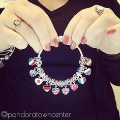 This would be cool to do in between cruise line charms for each country I get to go to #pandorapassion