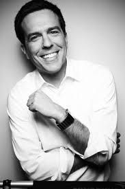 Have you realised by now that I like the quirky types?  Ed Helms definitely trumps Bradley Cooper!!