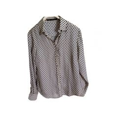 Pre-owned ZARA Shirt ($35) ❤ liked on Polyvore featuring tops, zara top, zara shirt, velvet shirt, velvet tops and shirts & tops