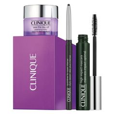 Clinique High Impact + Balm y Quickliner Maquillaje > Mascara de pestañas Clinique Gift, Regard Intense, Face Spray, Makeup Gift Sets, Hair And Beauty Salon, Body Treatments, Makeup Remover, Eyelashes, Makeup Lips