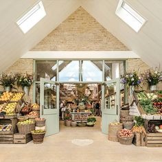 Daylesford Organic Farm, Kingham, Cotswolds. #Cotswoldsshopping #FarmShop #Organic #Cotswolds #TheCotswolds #England
