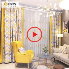 Modern Geometric Spliced Curtains curtains DIHIN HOME Modern Geometric Spliced Curtains,Blackout Grommet Window Curtain for Living Room Panel Colourful Living Room, Living Room Modern, Home Living Room, Living Room Designs, Living Room Decor Curtains, Home Curtains, Bedroom Decor, Curtain Ideas For Living Room, Large Window Curtains