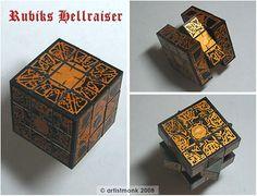 DIY: Hellraiser Rubik's Cube Puzzle Box