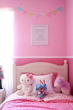1/2 Pink & 1/2 Purple | Maryssa\'s Room | Pinterest | Room, Bedrooms ...