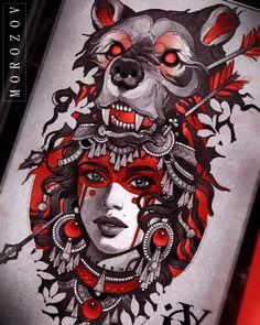 775 likes, 8 comments – Vitaly Morozov (Maple Valley Tattoo) s … - Portrait Ideas Kunst Tattoos, Bild Tattoos, New Tattoos, Body Art Tattoos, Tatoos, Tattoo Sketches, Tattoo Drawings, Drawing Sketches, Art Drawings