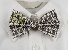 Sherlock Wallpaper Inspired Bow Tie by PixieBluebellDesigns