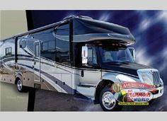 Gulf Stream SuperNova Class C Motor Home Diesel Living On The Road, Rv Living, Airstream Trailers, Travel Trailers, Super C Rv, Rv Camping, Camping Ideas, Diesel, Off Road Rv