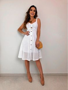 Swans Style is the top online fashion store for women. Shop sexy club dresses, jeans, shoes, bodysuits, skirts and more. Vintage Style Dresses, Casual Dresses, Girls Dresses, Summer Dresses, Fashion Vestidos, Fashion Dresses, Classy Outfits, Beautiful Outfits, Girl Fashion