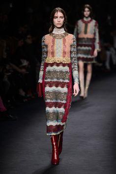86 photos of Valentino at Paris Fashion Week Fall 2015.