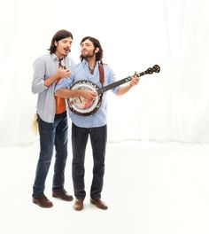 """The Avett Brothers, musicians, shine in the Modern Oxford. Fall 2012 """"Icons Redefined"""" Collection."""