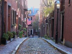 "Boston's Italian ""North End""."