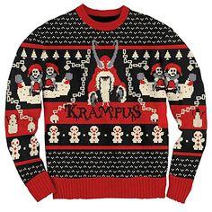 The Spooky Vegan: 10 Krampus Gifts for Creeps Couple Christmas, Tacky Christmas Party, Christmas Stuff, Kids Christmas, Holiday Fun, Christmas Crafts, Best Ugly Christmas Sweater, Christmas Sweaters For Women, Christmas Clothes