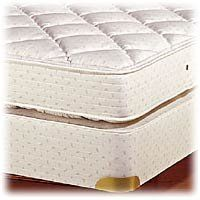 royal latex twinsize quilttop mattress by royal pedic all