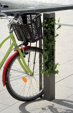 cycle stand for public spaces HEDERA ATECH