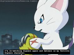 Full Confession: Gatomon is one of my favorite character in Digimon. I like the fact that while the other partner Digimon are in their in-training or rookie stages, shes in her champion stage most of the time, and also her whole Myotismon back story made me love her more.