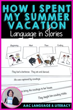 Student have fun with this modern tall tale while learning figurative language, vocabulary, sequencing, and narratives. Elementary grades in speech therapy and special education.