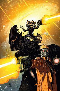 GotG variant by Alex Maleev (Deadpool #31)