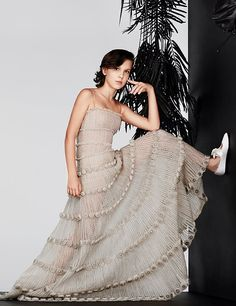 Image result for millie bobby brown instyle pink dress