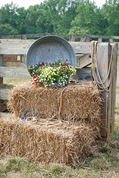 Strawbales for seating