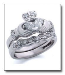 Love this wedding ring <3 keeps the Irish tradition alive