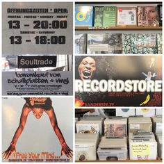 """""""Saxify"""" spotted again in Berlin! This time at the beautiful shop Soultrade Recordstore. Here you will find everything on vinyl, soul&funk related... #saxify #areyousaxified #seidihrsaxifiziert #vinyl #7inch #LP #soultrade #berlin #funk #soul #jazz"""