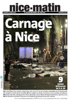 Un camion a foncé jeudi soir sur des spectateurs du feu d'artifice sur la promenade des Anglais, à Nice, faisant 84 morts. Le conducteur a été identifié comme un Tunisien de 31 ans. L'Etat islamique a revendiqué l'attentat.
