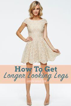How to Get Longer Looking Legs