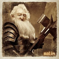 Happy Birthday to ! Hobbit Art, O Hobbit, Tolkien Books, Jrr Tolkien, Tauriel, Ken Stott, Middle Earth Books, Science Fiction, Rings Film