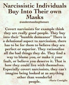 Yes, he's completely delusional. Narcissistic People, Narcissistic Behavior, Narcissistic Abuse Recovery, Narcissistic Personality Disorder, Narcissistic Sociopath, Narcissistic Husband, Trauma, Ptsd, Life Quotes