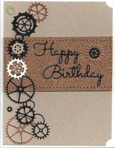 Birthday themed Scrapbook Cards | Card Making | General Cards | Card Ideas | DIY Cards | Hand Made Cards | Stamping | Scrapbooking | Creative Scrapbooker Magazine #cards #scrapbooking #cardmaking #birthday