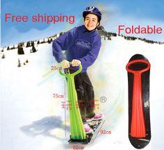 Crianças de neve Scooter de esqui Snow Board tubo trenós mais novo carro ski divertido gelo snowboard trenó