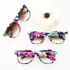 Monogram Sunglasses make a fun and unique favor for bridesmaids, bridal party or more! These stylish floral printed sunglasses have a pretty floral finish and metallic gold monogram in script (ON ONE SIDE). Monogram Chart Size: long x wide Bachelorette Party Supplies, Bachelorette Party Invitations, Bridal Shower Favors, Wedding Favors, Wedding Ideas, Bridal Showers, Wedding Sunglasses, Bridal Gifts, Bridesmaid Gifts