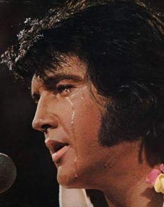 Elvis Presley. A George Vreeland Hill pin.