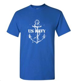 **** FREE ARTWORK , FREE SETUP AND FREE SHIPPING ****    Sale Up to 65% off store wide #bulk #gifts #freeartwork #freeEproof #businessgifts #bulk    ****Let us know if you want to customize it****    U.S. Navy Short Sleeve Custom Printed Gildan T-Shirt -2000 Ultra Cotton:When quality counts, be sure to choose this custom imprinted Cotton T-shirt to display your company's name and logo. People of any age will proudly wear this promotional Tshirt, ensuring a great deal of exposure…
