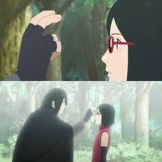 Sasuke & Sarada ❤