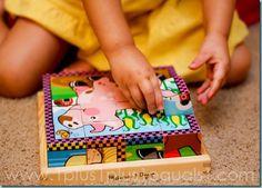 Cube Puzzle {38 months}