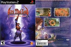 Arc the Lad Twilight of the Spirits Video Game Cover Boxart