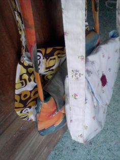 my first sewn bags